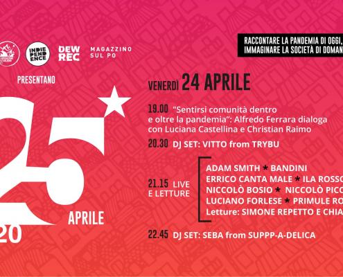 festa della liberazione, 25 aprile
