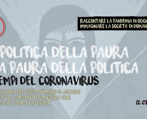 La politica della paura, la pura della politica, jacobin 6